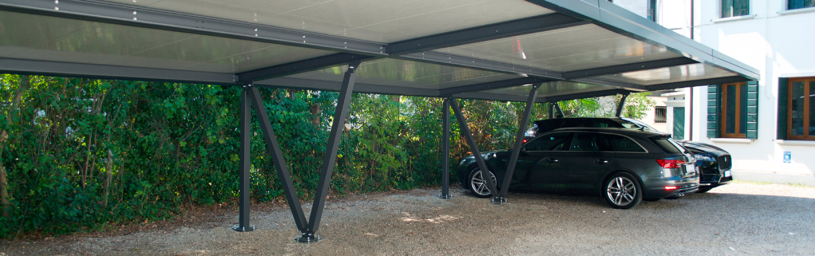 NEW: Canopies in an installation KIT