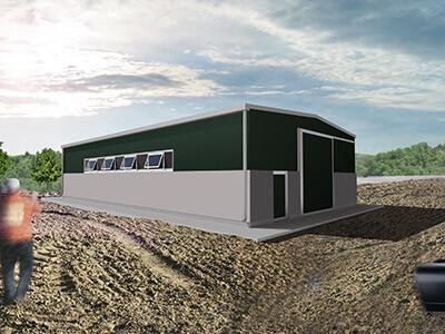 Prezzi capannoni prefabbricati coibentati capannone in for Capannoni in legno prezzi