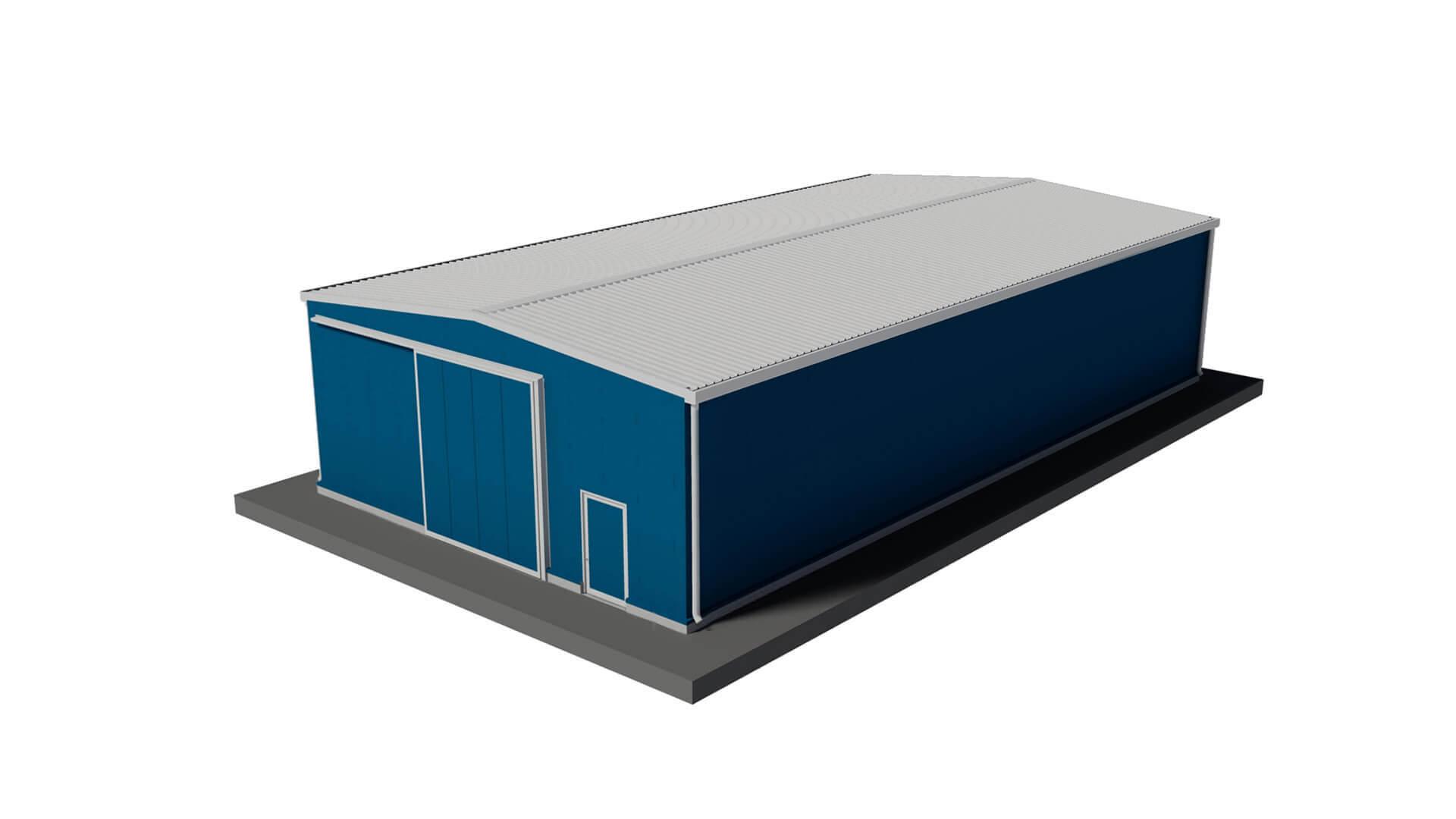 Capannoni prefabbricati acciaio prezzi capannone minimal 2 for Capannoni in legno prezzi